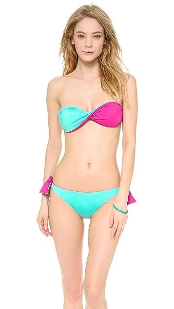 Thayer Twist Bandeau Bikini Top