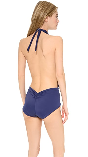 Thayer Halter One Piece Swimsuit