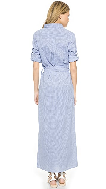 Thayer Maxi Shirtdress Cover Up