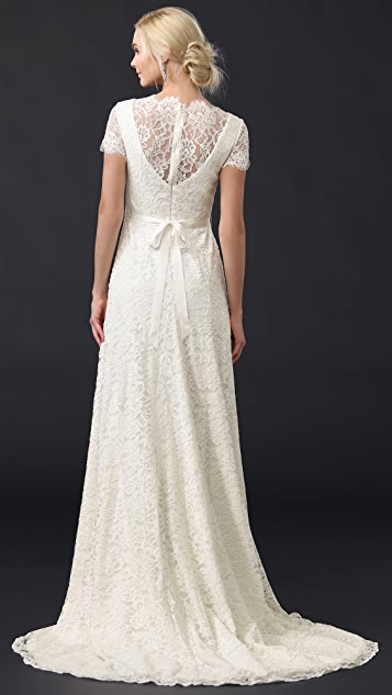 Theia Louise Gown with Belt