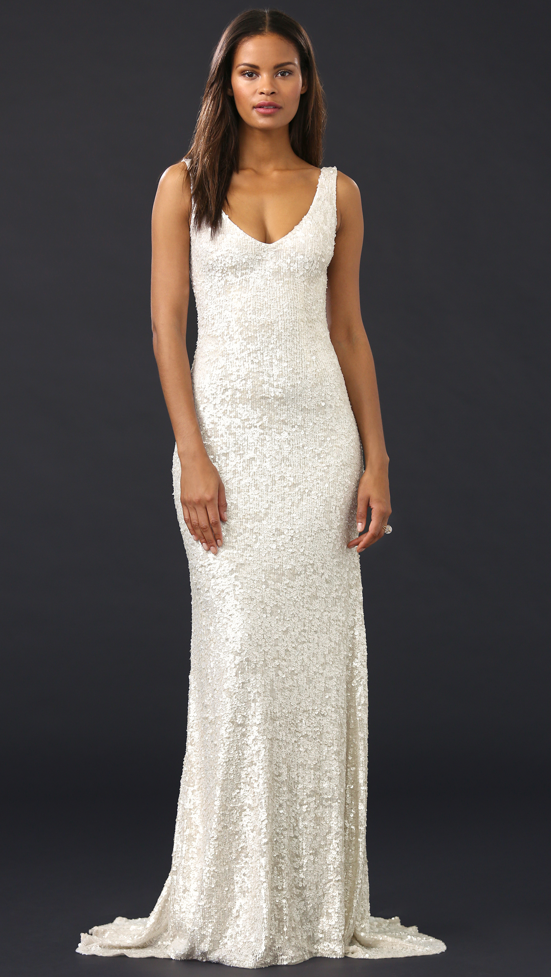 Theia Harlow Sequin Gown | SHOPBOP