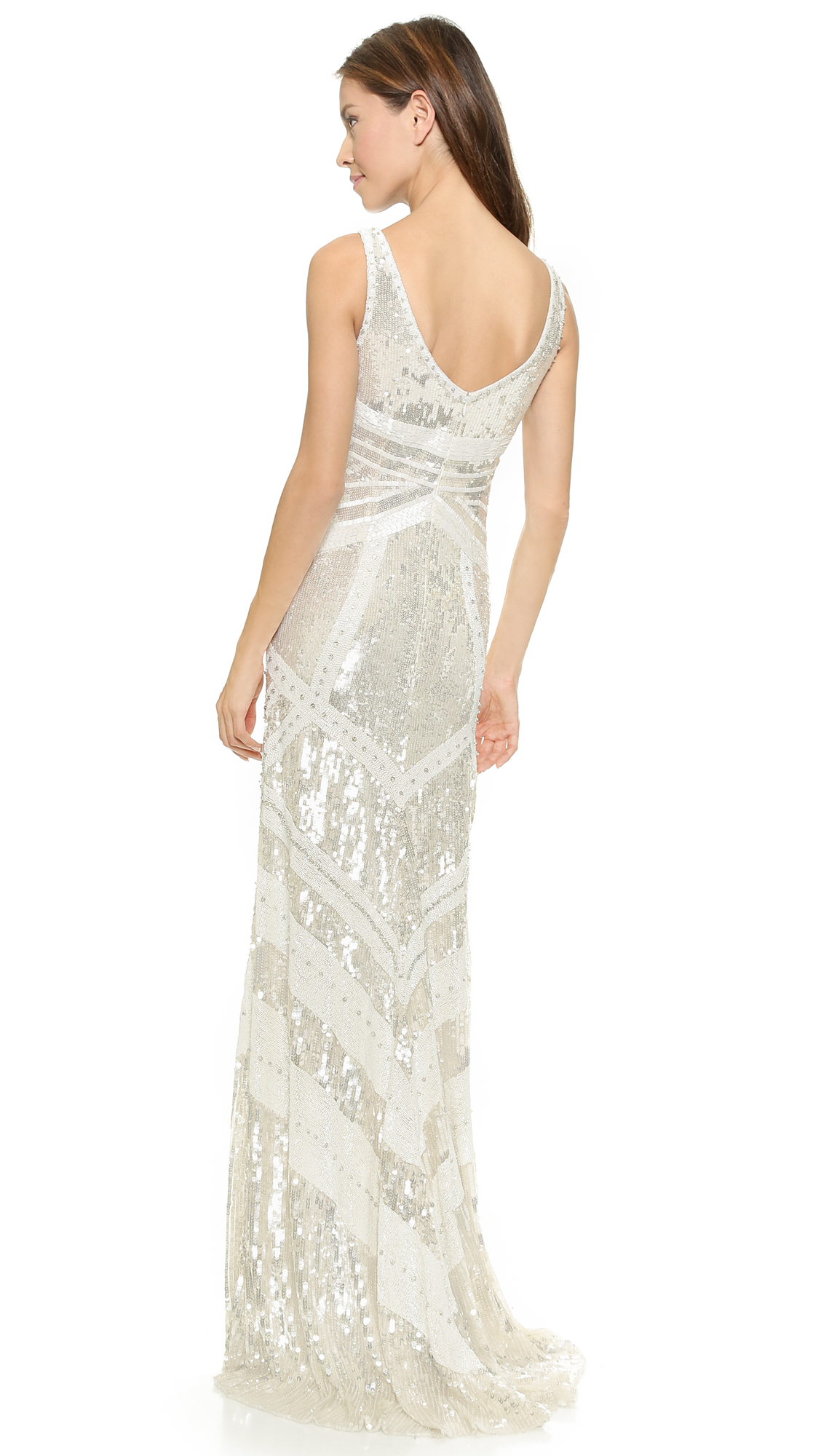 Fine Theia Sequin Gown Component - Wedding and flowers ispiration ...