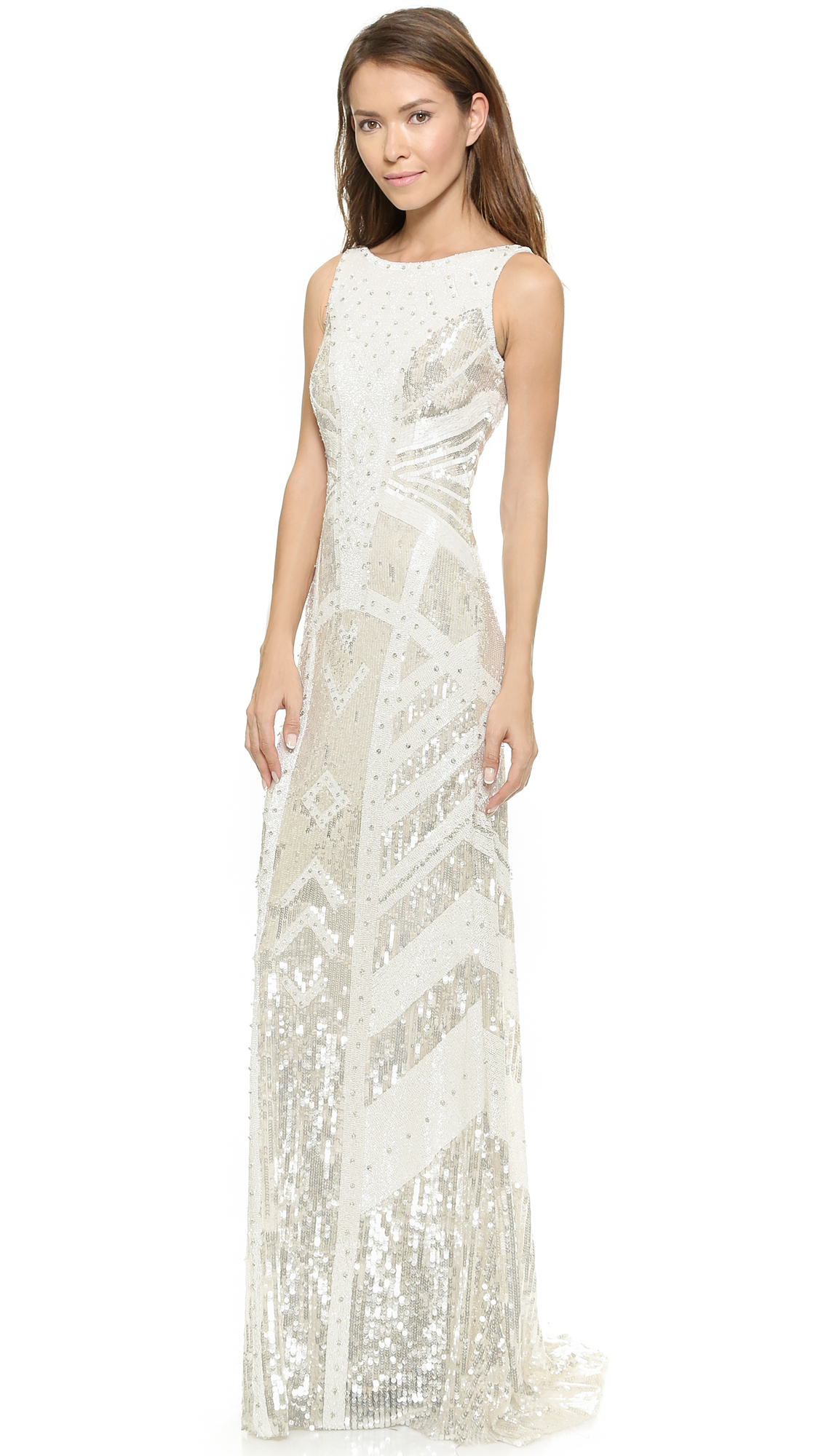 Theia Selene Sequin Gown | SHOPBOP