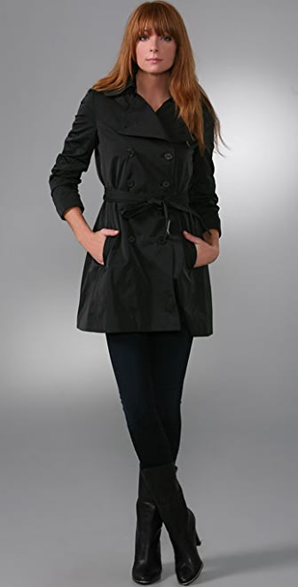 Theory Cerelia Trench Coat