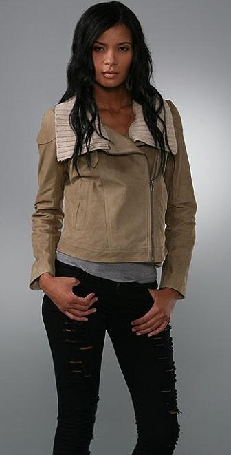 Theory Roibin Leather Jacket