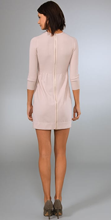 Theory Hannyi Dress with Exposed Back Zip