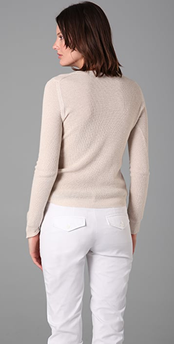 Theory Charla B Sweater with Side Closure