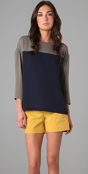 Theory Mendela Blouse