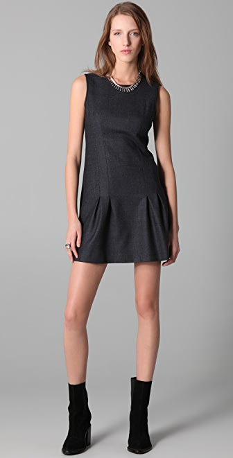 Theory Lemia Fern Dress