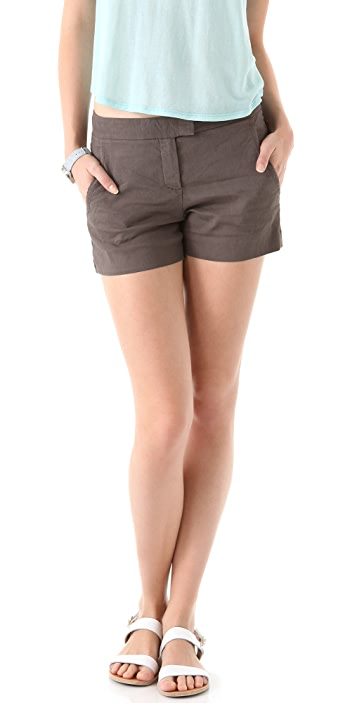 Theory Blaynee Crunch Shorts