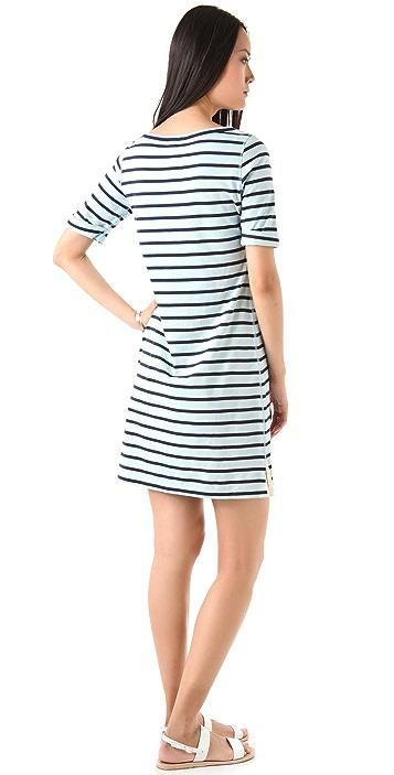 Theory Evolita Sailor Stripe Dress