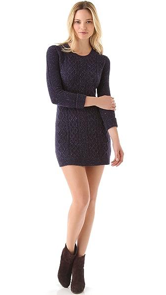 Theory Mayly Fleck Sweater Dress
