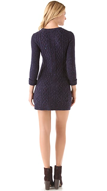Theory Mayly Fleck Sweater Dress