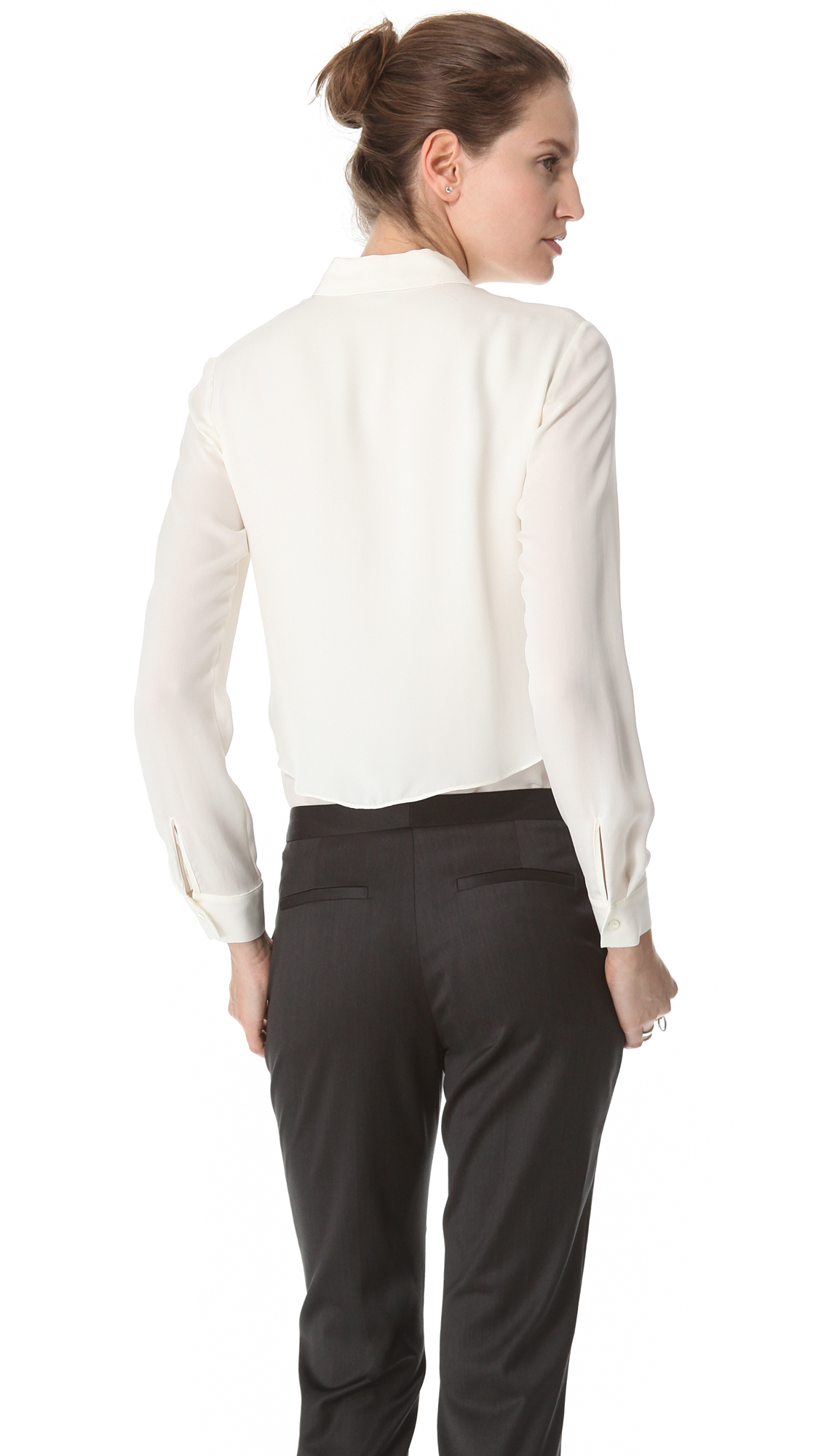 9db0a6c3670 Theory Rosita Blouse | SHOPBOP