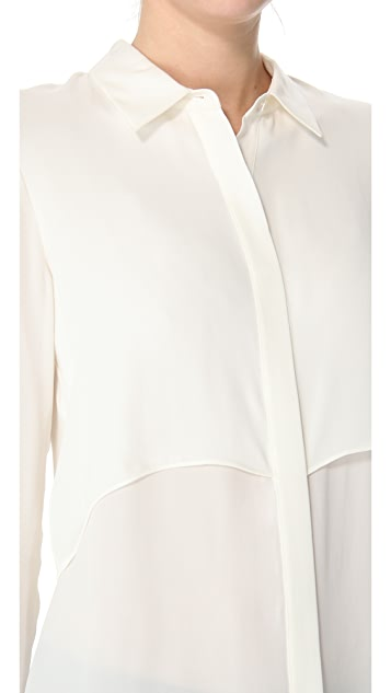 Theory Rosita Blouse