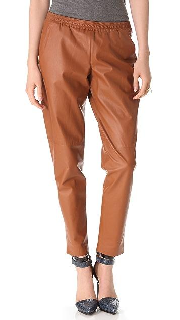 Theory Katla Leather Pants