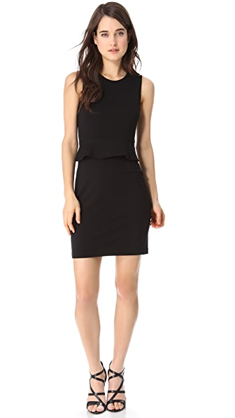 Theory Dellera Peplum Dress