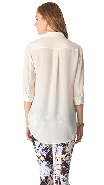 Theory Tenzin P Blouse