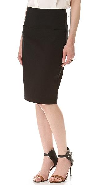 Theory Clea Knee Skirt