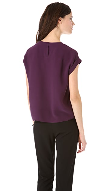 Theory Sellida Blouse