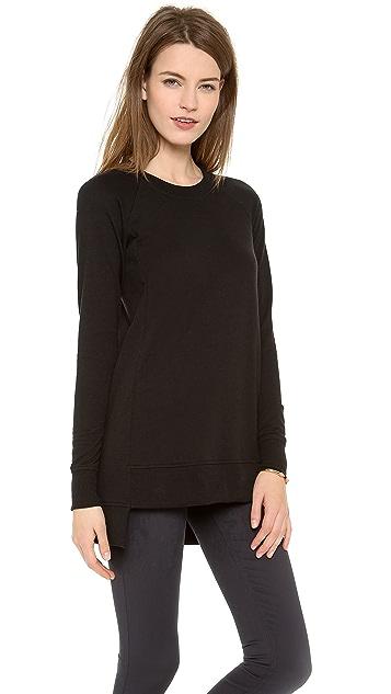 Theory Janelo Long Sweatshirt