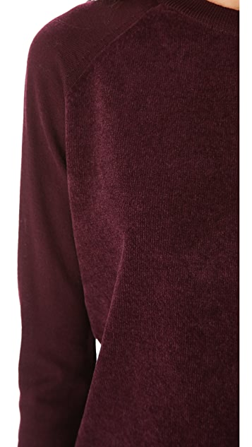 Theory Evrett B Long Sleeve Sweater