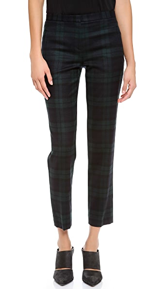 Theory Fia Plaid Pants | SHOPBOP