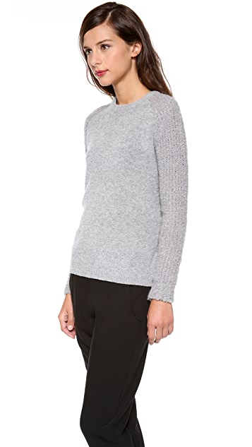 Theory Delanna Boucle Sweater