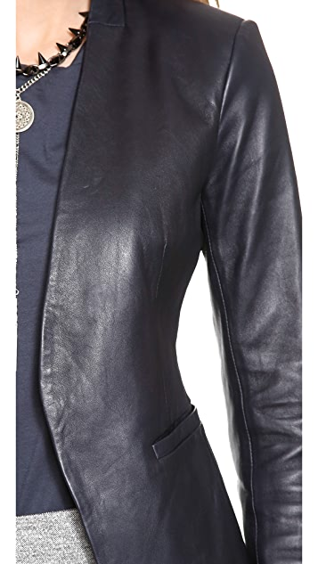 Theory Lanai Leather Jacket