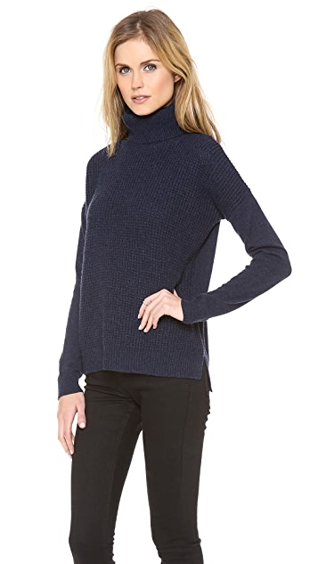Theory Aldanta Cashmere Turtleneck Sweater