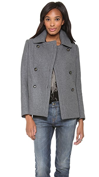 Theory Fannia Pea Coat