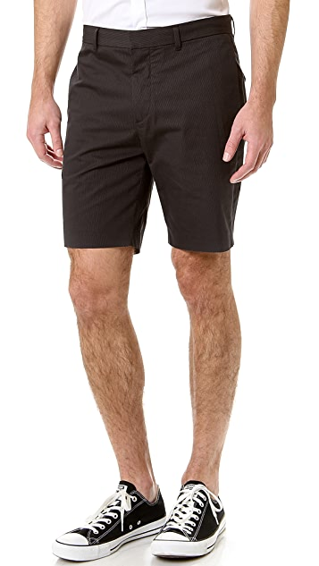 Theory Adelmar Micro Stripe Shorts