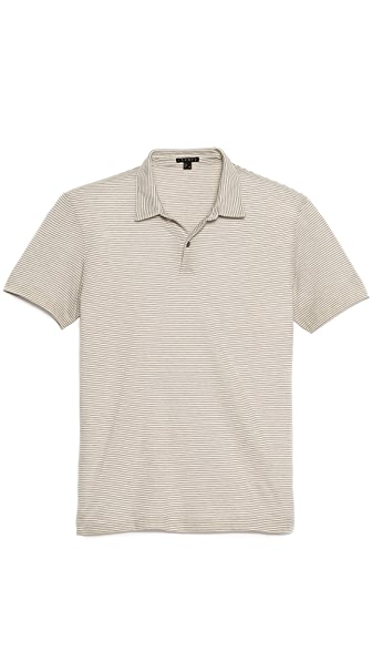 Theory Narrow Stripe Polo