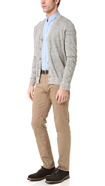 Theory Dotted Cardigan