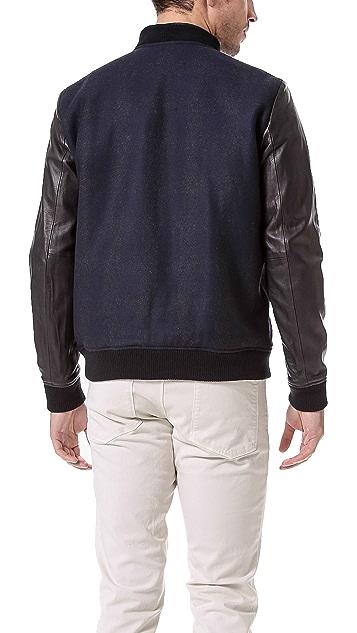 Theory Volter C Kinlough Varsity Jacket