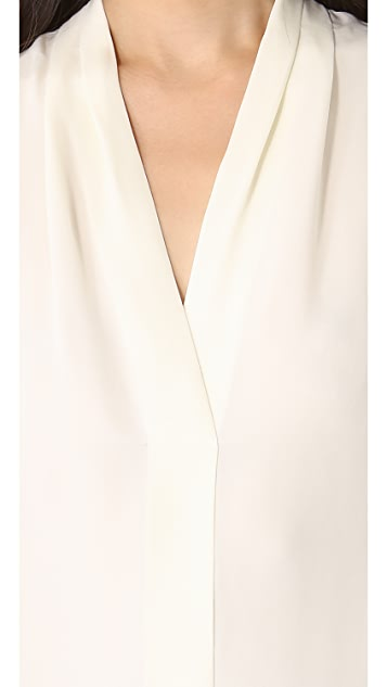 Theory Hylin Blouse