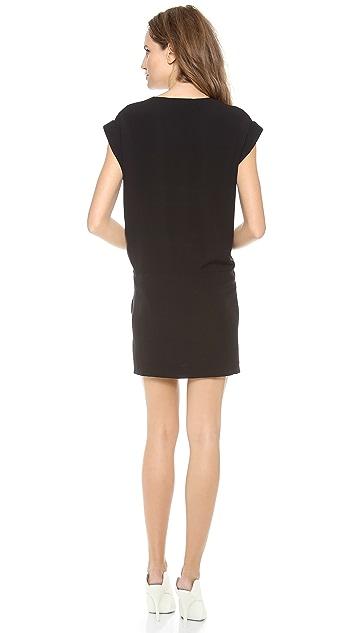 Theory Double Georgette Gydana Dress