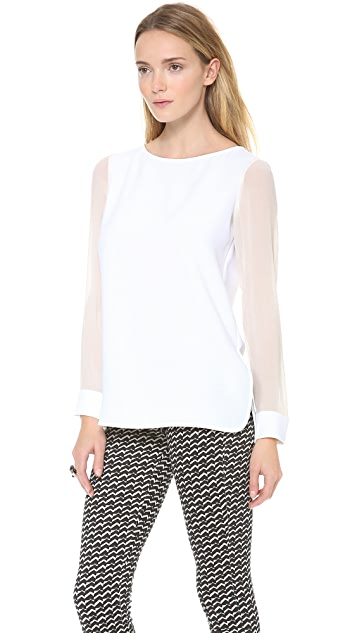 Theory Changement Toska C Blouse