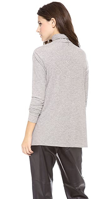 Theory Ribbed Turtleneck Sweater