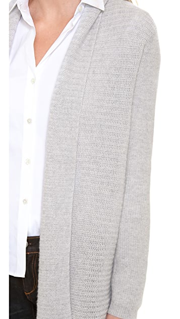Theory Cashmere Dantelle Cardigan