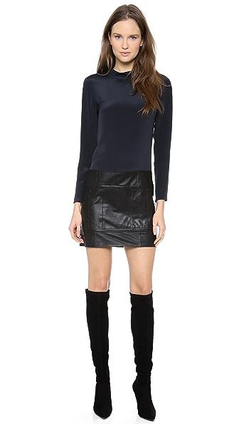 Theory Karlyn Combo Dress