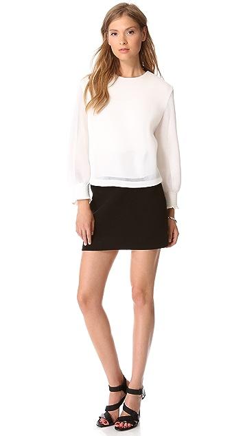 Theory Holleen Enchanted Skirt