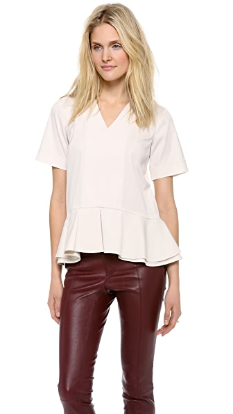 Theory Luxe Lacole Blouse