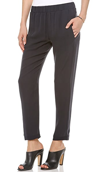 Theory Double Georgette Korene Pants