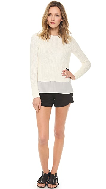 Theory Sea Cottoncash Klemdy Sweater