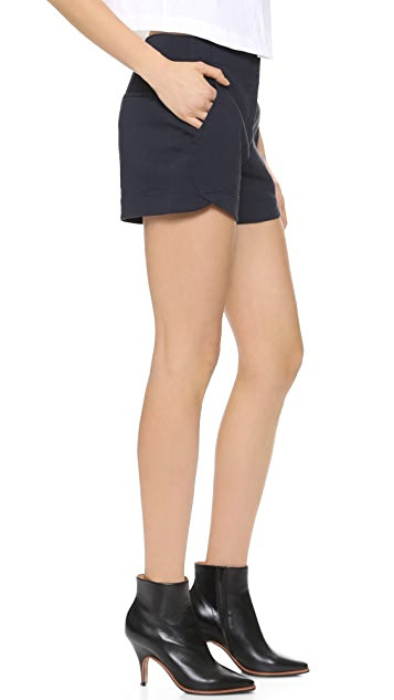 Theory Crunch Kaelin Shorts
