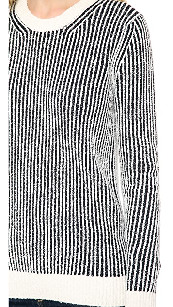 Theory Sea Cottoncash Jaidyn SN Sweater