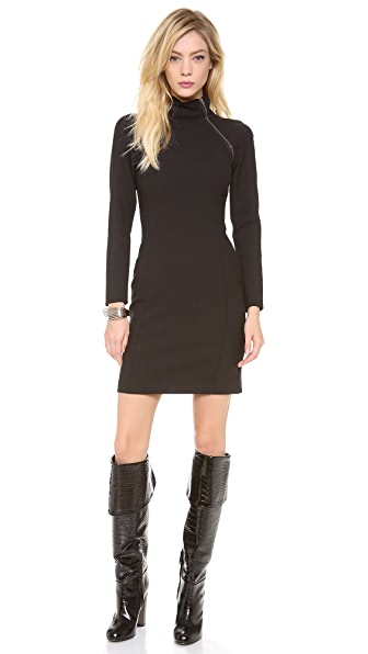Theory Danelle Edgewood Wool Dress