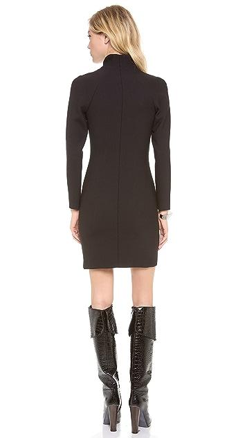 Theory Danelle Edgewood Wool Dress