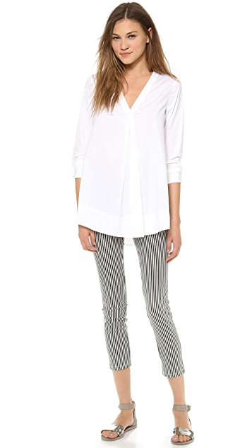 Theory Luxe Quida Blouse